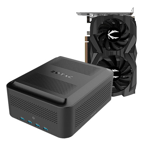 AMP BOX Mini 230W + GTX 1660 SUPER TWIN