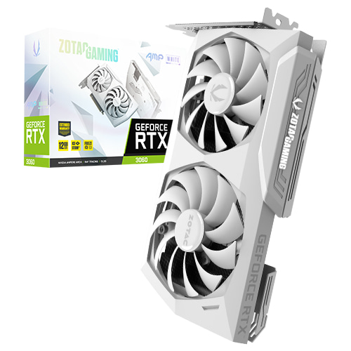 ZOTAC GAMING 지포스 RTX 3060 AMP White D6 12GB